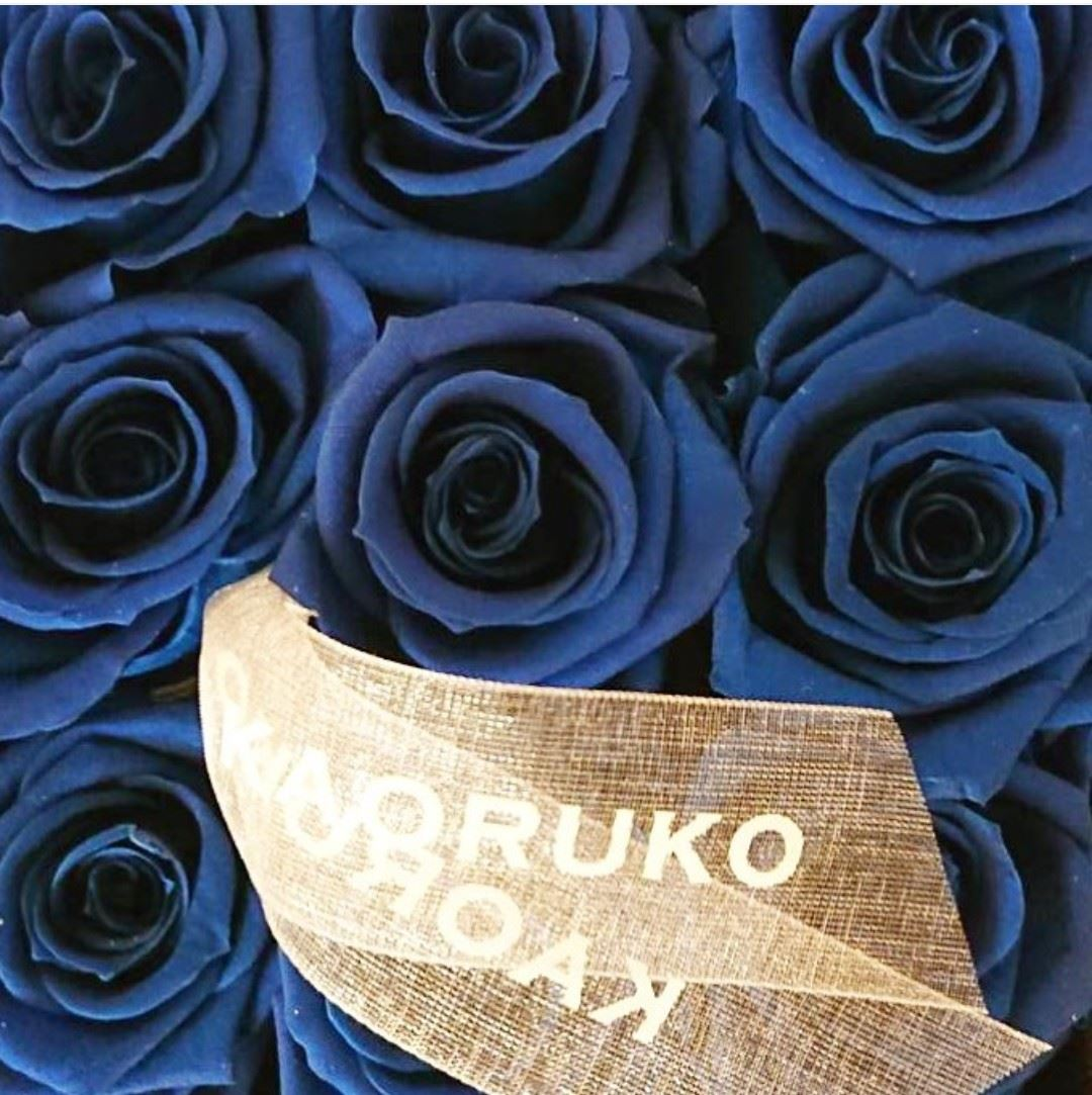 青 フローリスト銀座のご案内 Kaoruko Florist Ginza